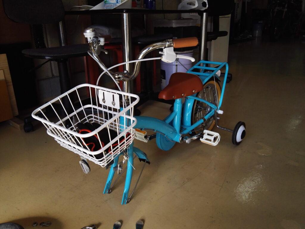 自転車チューブ交換