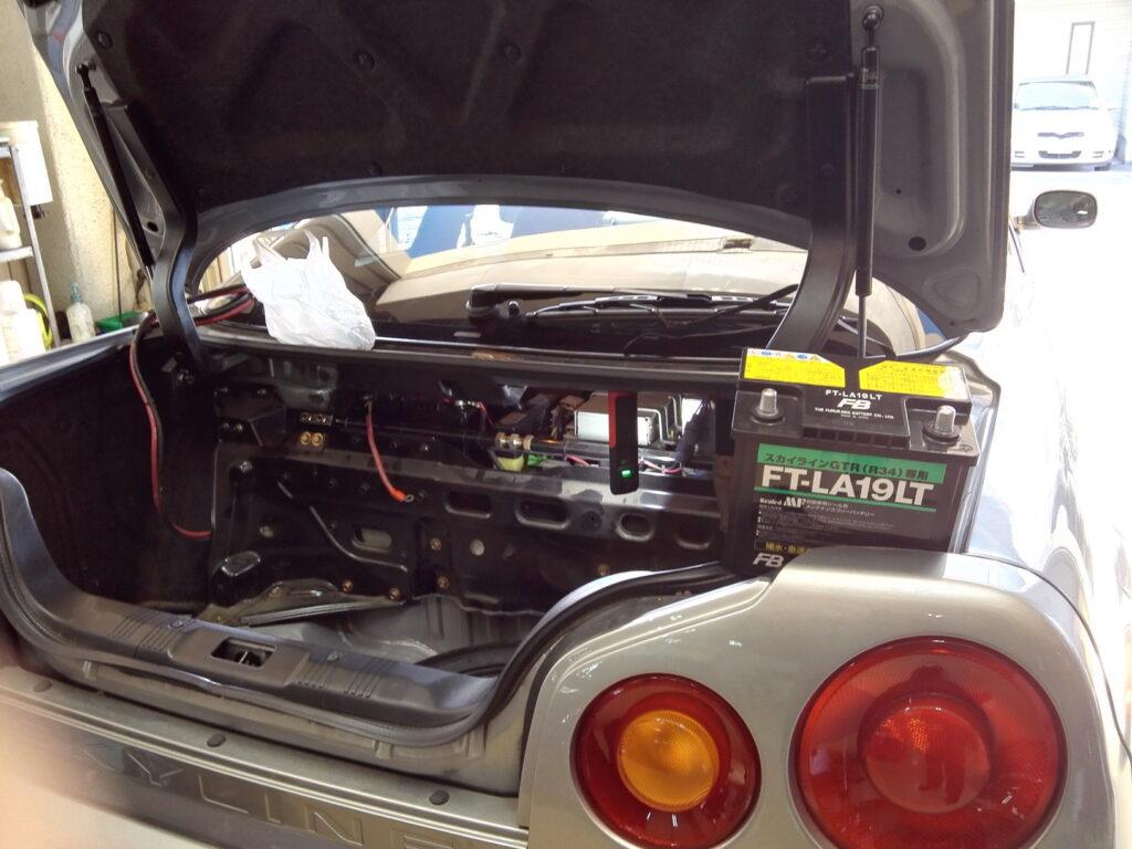 34GTR車検修理
