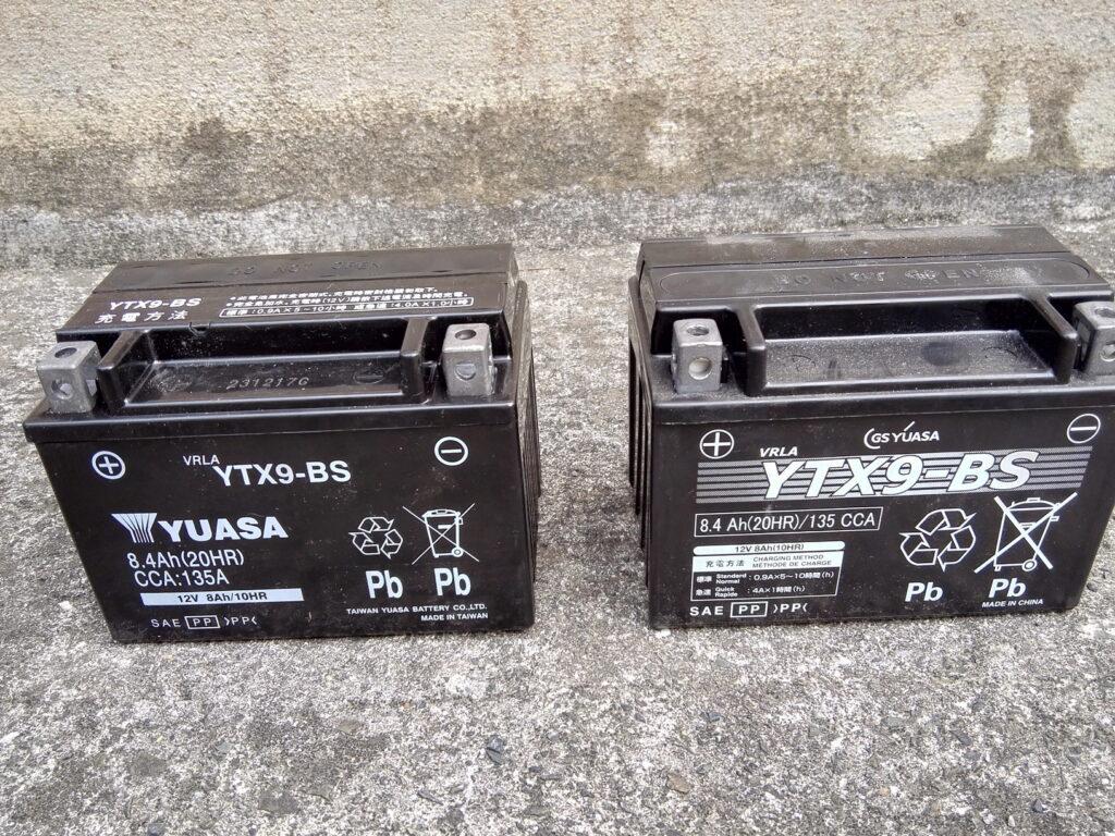 ニンジャ250バッテリー交換