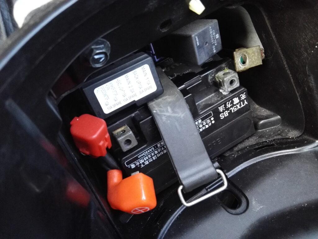 PCXバッテリー交換