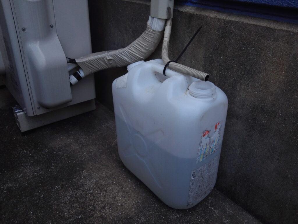 エアコン自作散水システム