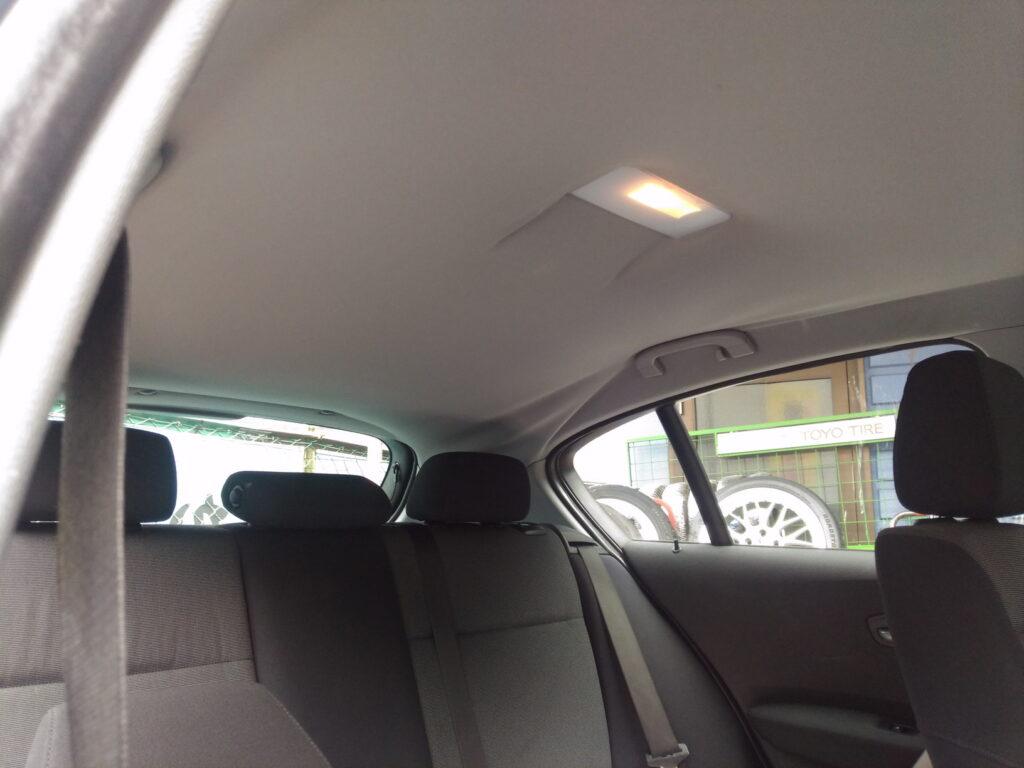 BMWルーフトリム修理