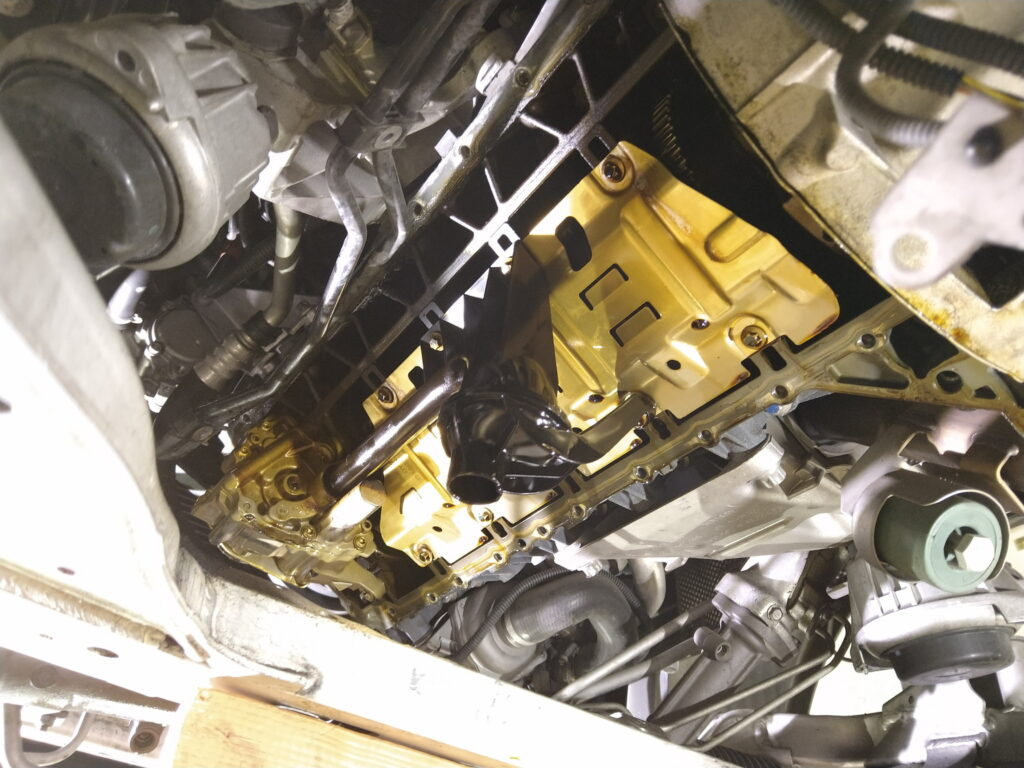 BMWオイル漏れ修理