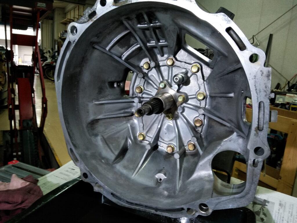 RX8クラッチ交換