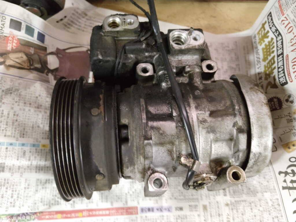 AW11エアコン修理